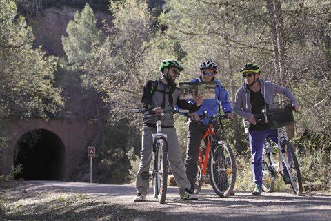 Via Verde Via Verda Matarraña Val de Zafán Toscana Española